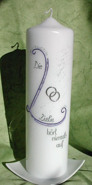 Lila-Silber