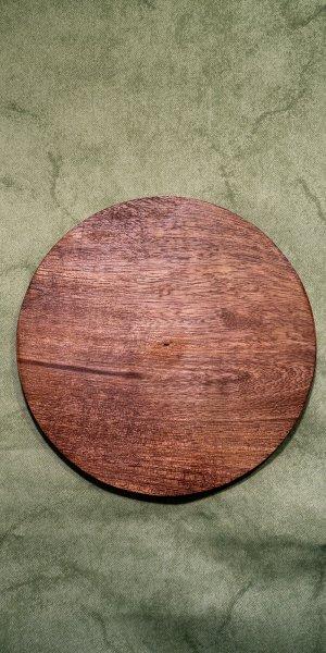 Kerzenteller Holz