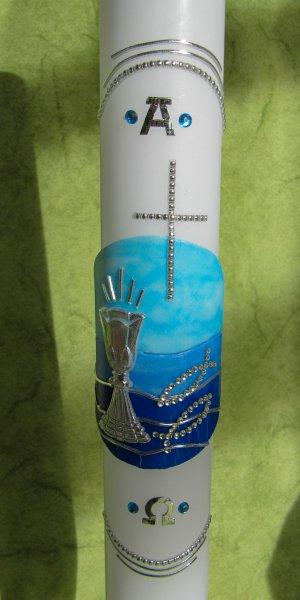 Blau-Silber