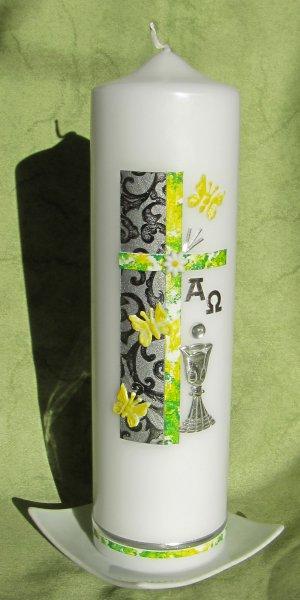 Gelbgrün-Silber 12