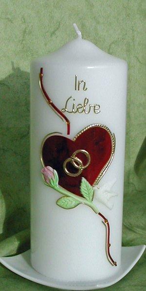 Hochzeitskerze In Liebe