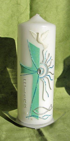 Mint-Blau-Silber