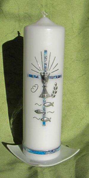 Dunkelblau-Silber 3