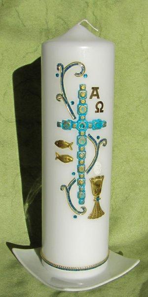 Kreuz Blau-Gold 1